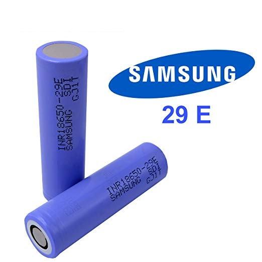 1+1 Samsung INR18650-29E 18650 2900mAh - ΜΠΑΤΑΡΙΕΣ ΓΙΑ MODS