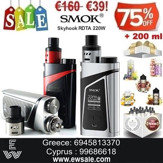SMOK Skyhook RDTA + 200 ml Δημοφιλή Υγρά άτμισης