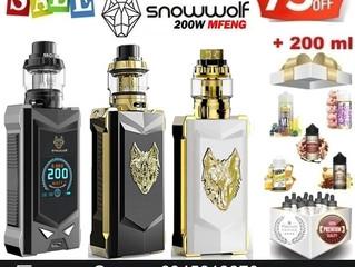 SnowWolf MFENG 200W Kit + 200 ml υγρά μόνο €59!