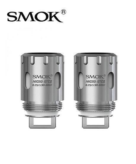 3 Smok TFV4 0.25 Ohm Micro Dual Core Coils αντιστάσεις