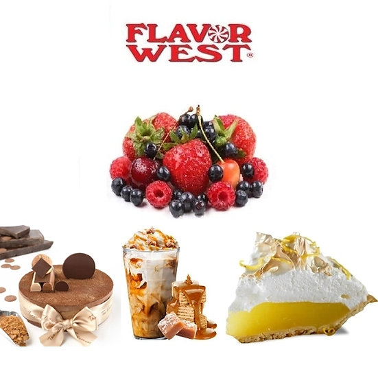 118 ml Flavor West Gourmet Αρώματα DIY υγρων αναπληρωσης