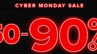 -90% προσφορές Cyber Monday!