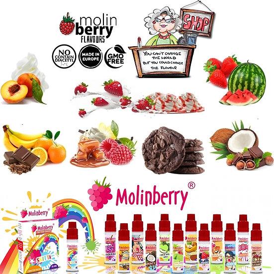 90 ml Gourmet Molinberry M-line Αρώματα DIY υγρων αναπληρωσης