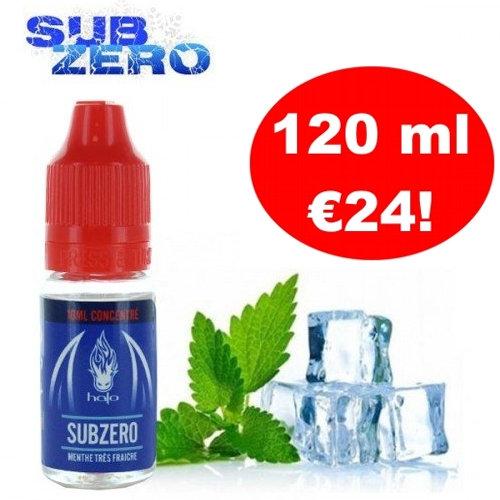 Halo Sub Zero 120 ml DIY Υγρά άτμισης