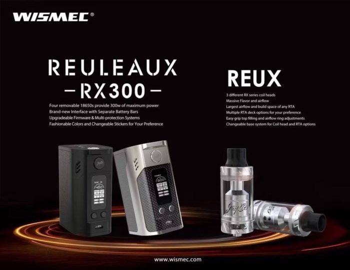 Wismec Reuleaux RX300 TC Starter Kit Προσφορές Ηλεκτρονικά Τσιγάρα