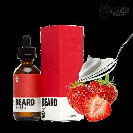 Beard ColorRed 60 ml Vape Juice - Υγρά αναπλήρωσης