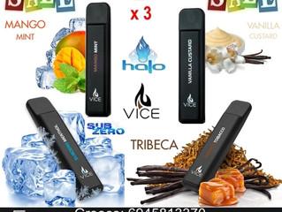 Νέες Αφίξεις -  Halo Vice disposable Ηλεκτρονικά Τσιγάρα μίας χρήσης!
