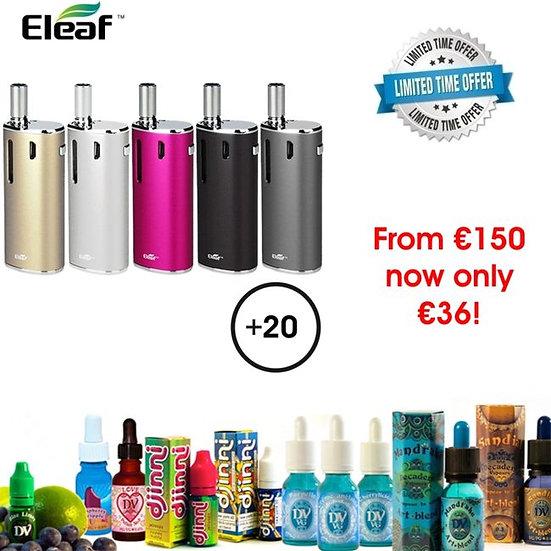 ELEAF iNANO + 20 x 10ml E-Liquids / Βραβευμένα Υγρά άτμισης