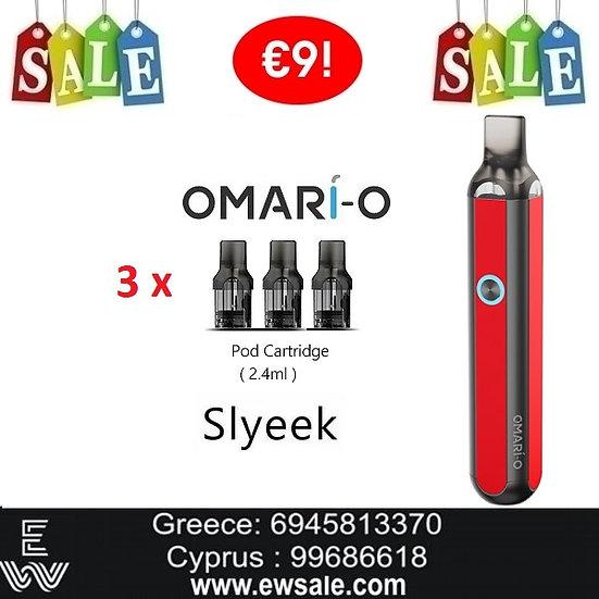 Omari-o Slyeek ανταλλακτικά POD CARTRIDGES