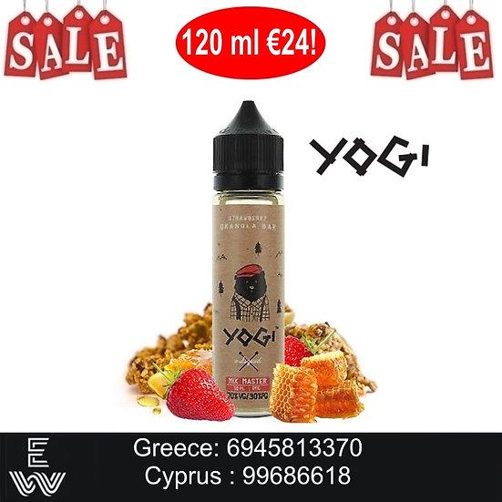 120 ml YOGI Strawberry Granola Bar Υγρά αναπλήρωσης
