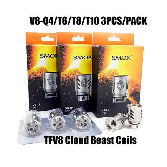3  x Smok TFV8 Cloud Beast Coils Ανταλλακτικές κεφαλές, αντιστάσεις