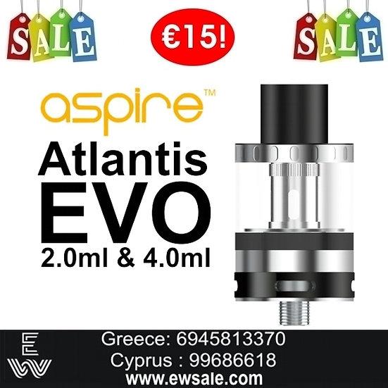 Aspire Atlantis EVO ηλεκτρονικού τσιγάρου