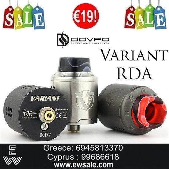 Dovpo Variant RDA Tank επισκευάσιμος ατμοποιητής