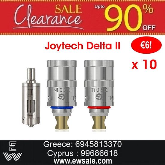10 Joytech Delta II LVC Ni/Ti Atomizer Head(0.3ohm) κεφαλές αντίστασης