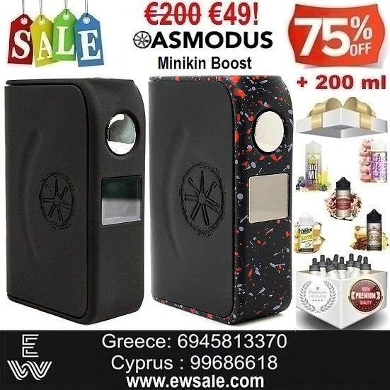 Asmodus Minikin Boost 155WMods ηλεκτρονικού τσιγάρου + 200ml Υγρά άτμισης