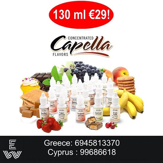 130 ml Capella Αρώματα DIY υγρων άτμισης