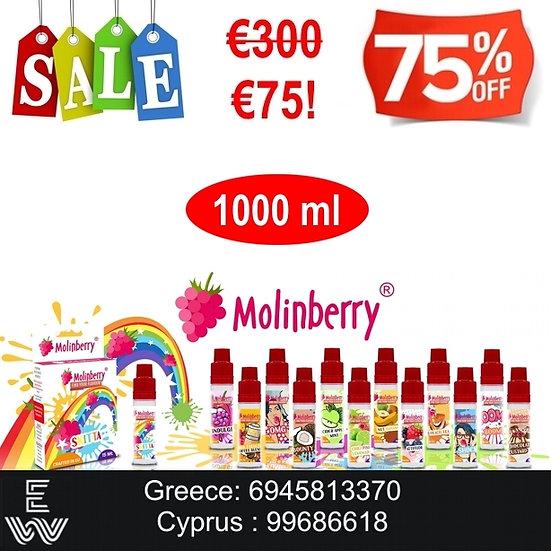 1000 ml Molinberry M-line DIY Υγρά άτμισης