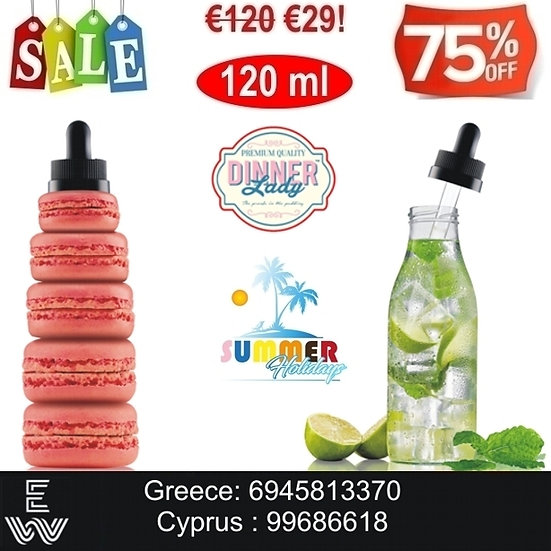 120 ml Dinner Lady Special Edition Υγρά αναπλήρωσης