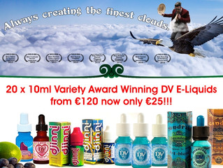 DV Award Winning E-Liquids - DV Βραβευμένα Υγρά άτμισης
