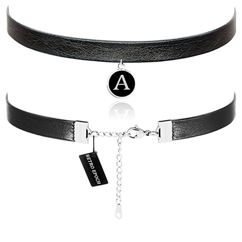 RETRO EPOCH <b>Women's Black Velvet</b> Ribbon Choker Necklace ...