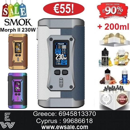 Smok Morph II 230W Mods ηλεκτρονικού τσιγάρου +200ml Υγρά άτμισης
