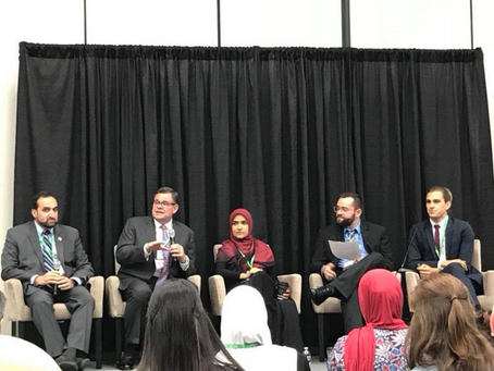 NF Visits at Islamic Society of North America Meeting