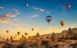 Mongolfieres en cappadoce
