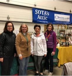 Volunteers for SOTA's Attic at the Super Gigantic Garage Sale!