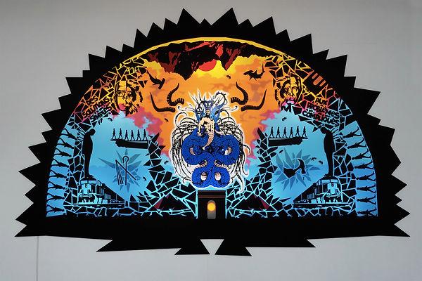 Le Dos au mur Nicolas Lachambre