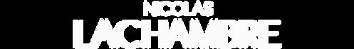 Typo accueil site Nicolas Lachambre 2020