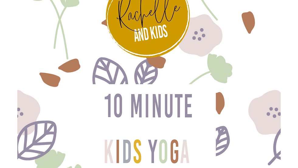 Kids Yoga Practice Video