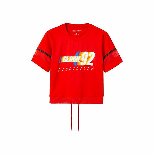 חולצת קשירה אדומה