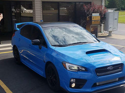Cincy Vinyl Wraps  Gloss Black Roof Wrap
