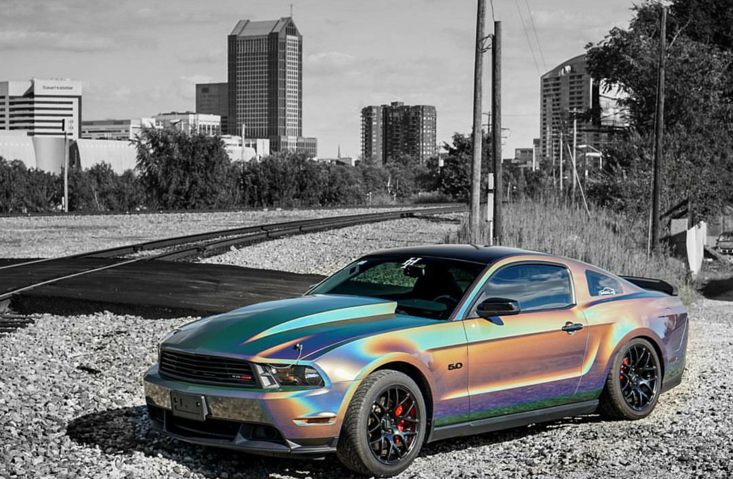Psychedelic Mustang 4