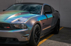 Psychedelic Mustang