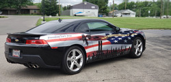 Cincy Vinyl Wraps Patriotic Camaro (2)