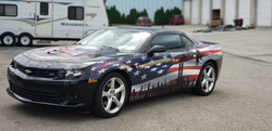 Cincy Vinyl Wraps Patriotic Camaro (1)