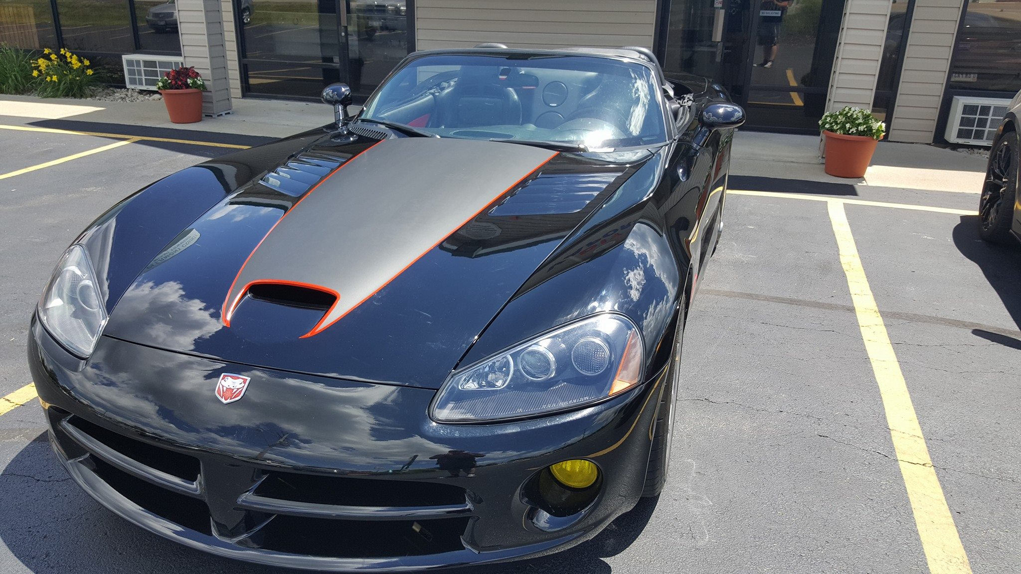 Cincy Vinyl Wraps Custom Viper Stripe (3
