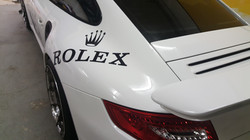 Cincy Vinyl Wraps Porsche Custom Rolex D