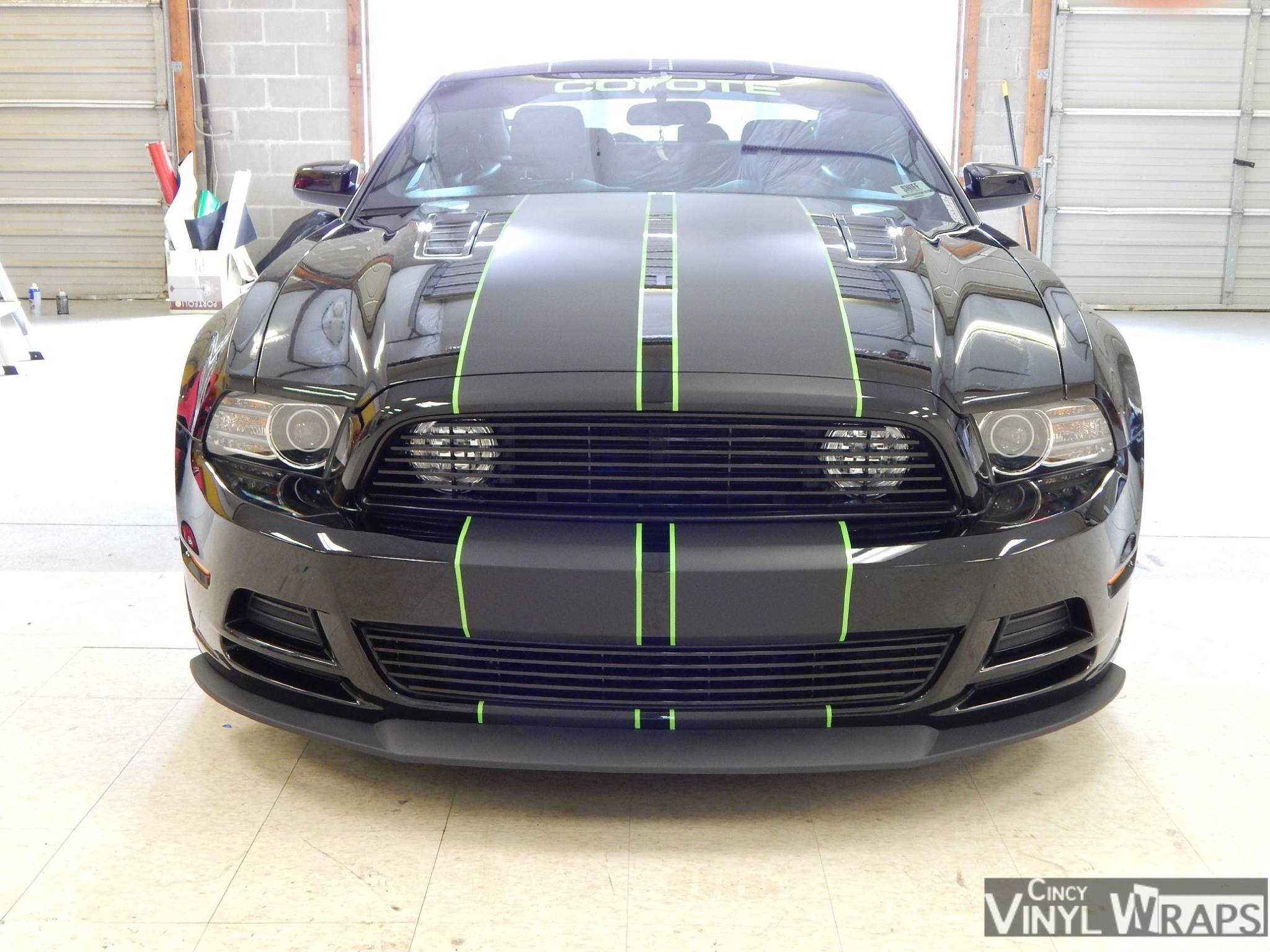 Cincy Vinyl Wraps Mustang Dual Stripes (