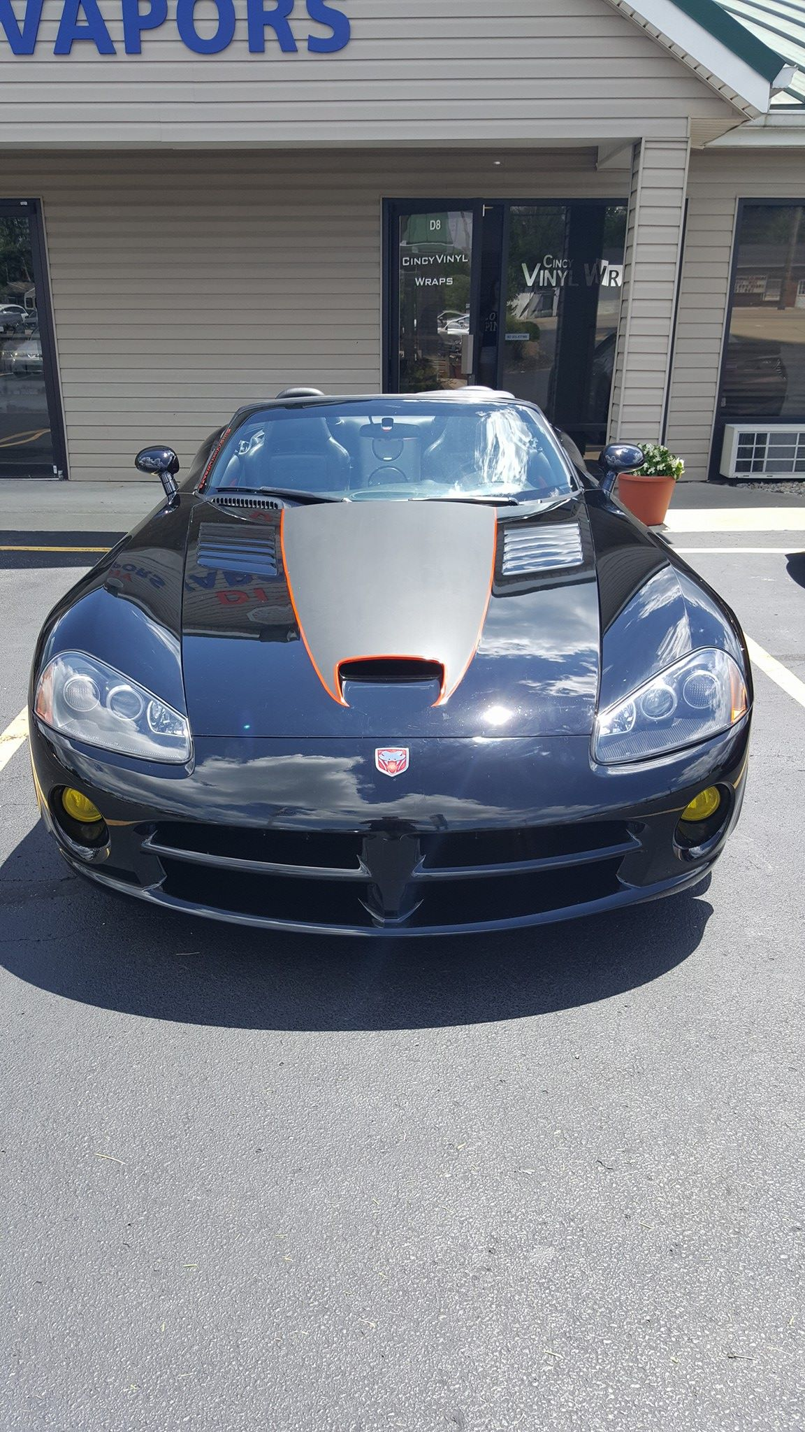 Cincy Vinyl Wraps Custom Viper Stripe (1