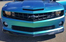 Cincy Vinyl Wraps Aquamarine Camaro (5).