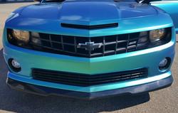 Cincy Vinyl Wraps Aquamarine Camaro (5).