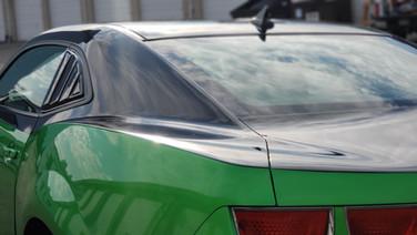 CIncy VInyl Wraps Camaro Partial Wrap  (