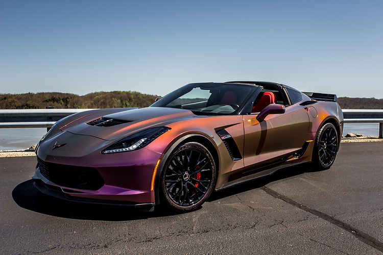 Cincy Vinyl Wraps Aubergine Bronze Vette