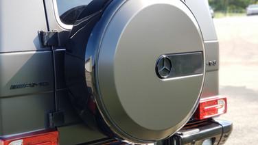 Cincy Vinyl Wraps AMG G63 Satin Basalt G
