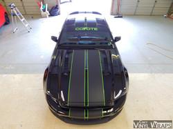 Cincy Vinyl Wraps Mustang Dual Stripes (