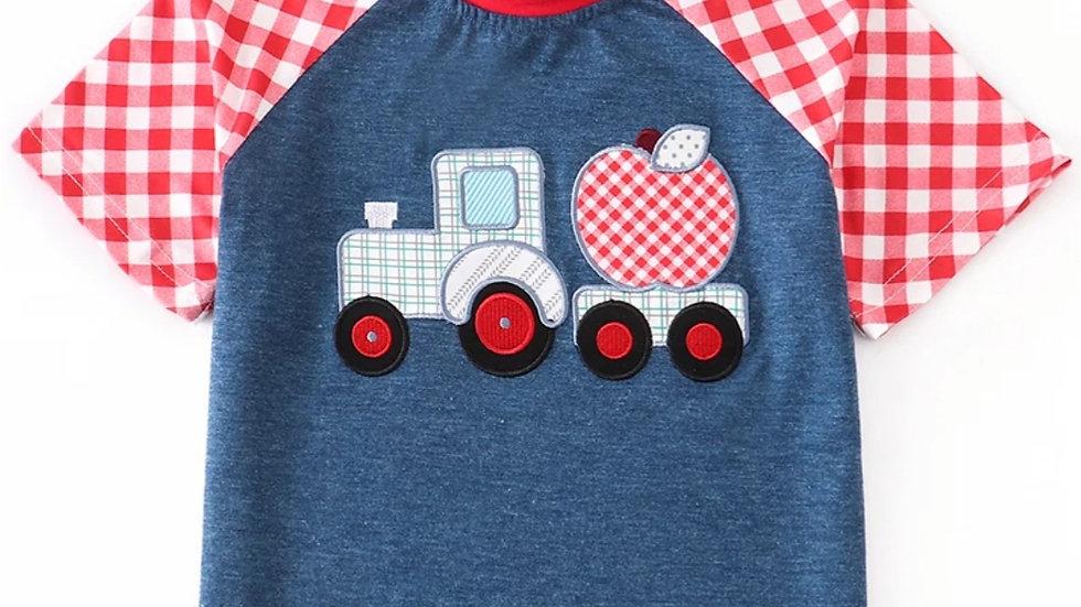 Apple Truck Short Sleeve Shirt