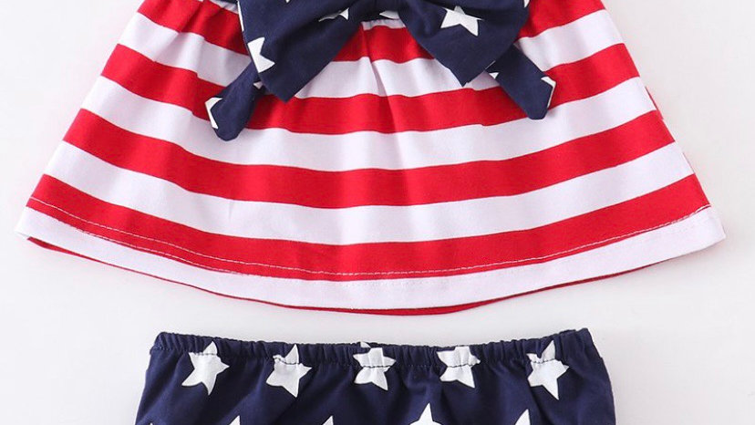 Patriotic Flag Baby Set