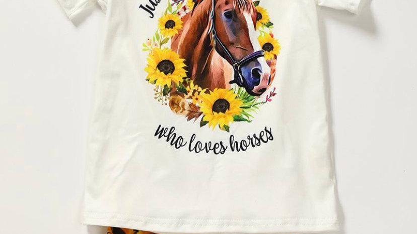 Sunflower Horse Set